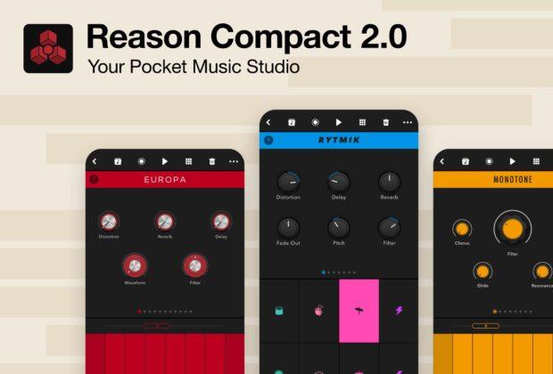 Propellerhead Reason Compact 2.0 app mobile iphone ipad music strumenti musicali