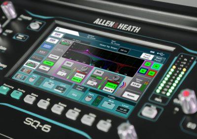 Allen&Heath SQ update firmware aggiornamento console mixer live exhibo strumenti musicali