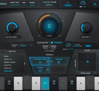Antares AutoTune EFX+ plug-in audio fx daw software audiofader