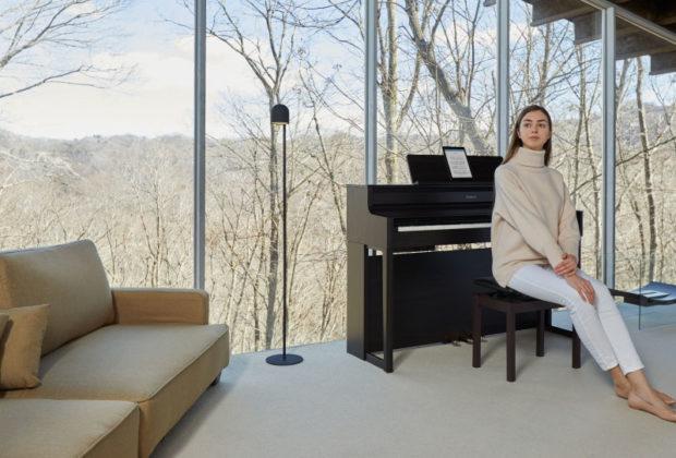 roland hp700 digital piano home strumenti musicali