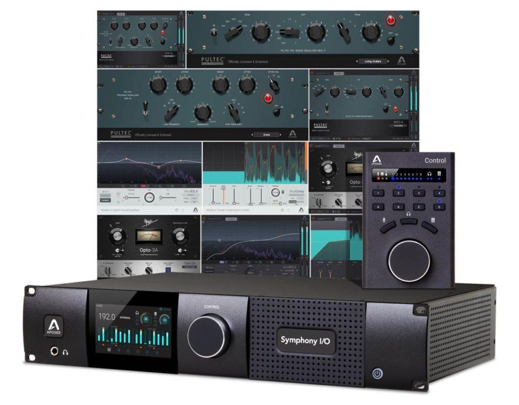 Apogee promo summer 2019 Symphony I/O Mk II Thunderbolt interfaccia audio studio pro plug-in virtual soundwave
