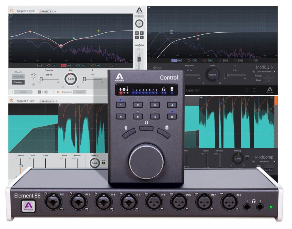 Apogee promo summer 2019 element 88 interfaccia audio studio pro plug-in virtual soundwave