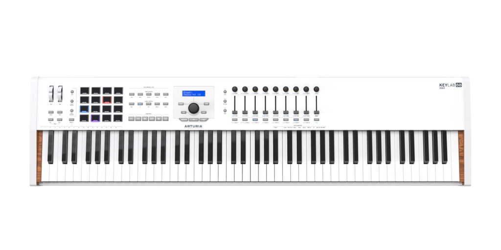 Arturia KeyLab 88 mkII controller tastiera keyboard midi midiware strumenti musicali