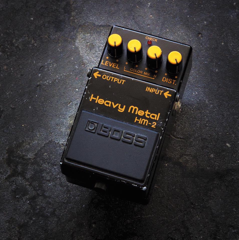 Boss HM2 pedale guitar chitarra stomp hardware strumenti musicali