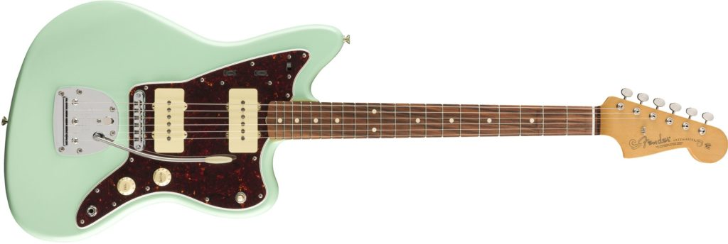'60s Jazzmaster Modified Surf Green Fender Vintera chitarra elettrica guitar electric stratocaster telecaster precision bass jazz jaguar jazzmaster mustang strumenti musicali