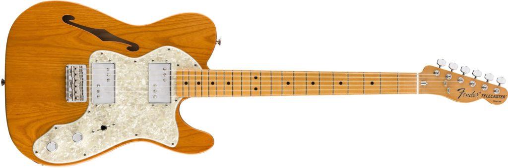 '70s Telecaster Thinline Aged Natural Fender Vintera chitarra elettrica guitar electric stratocaster telecaster precision bass jazz jaguar jazzmaster mustang strumenti musicali