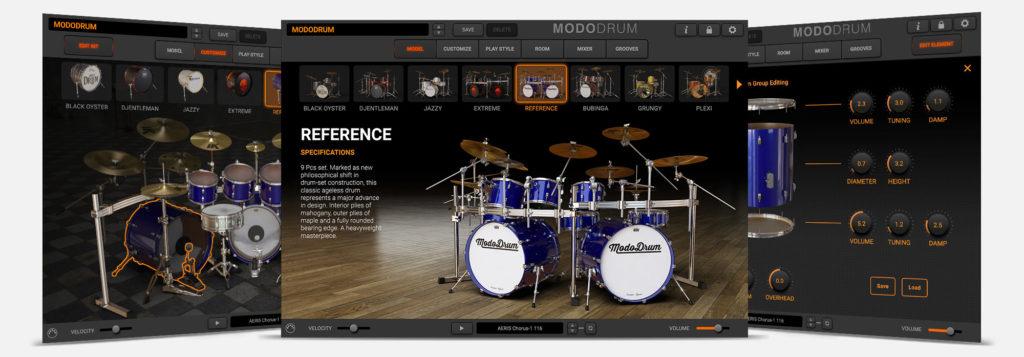 Ik Multimedia Modo Drum drums batteria virtual instrument software daw production mogar strumenti musicali
