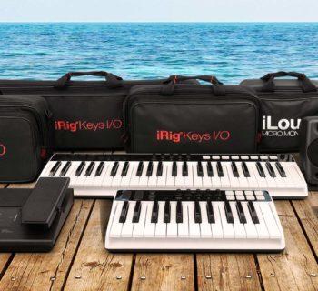 Ik Mutlimedia promo Studio to go hardware monitor controller keyboard tastiera synth uno mogar strumenti musicali
