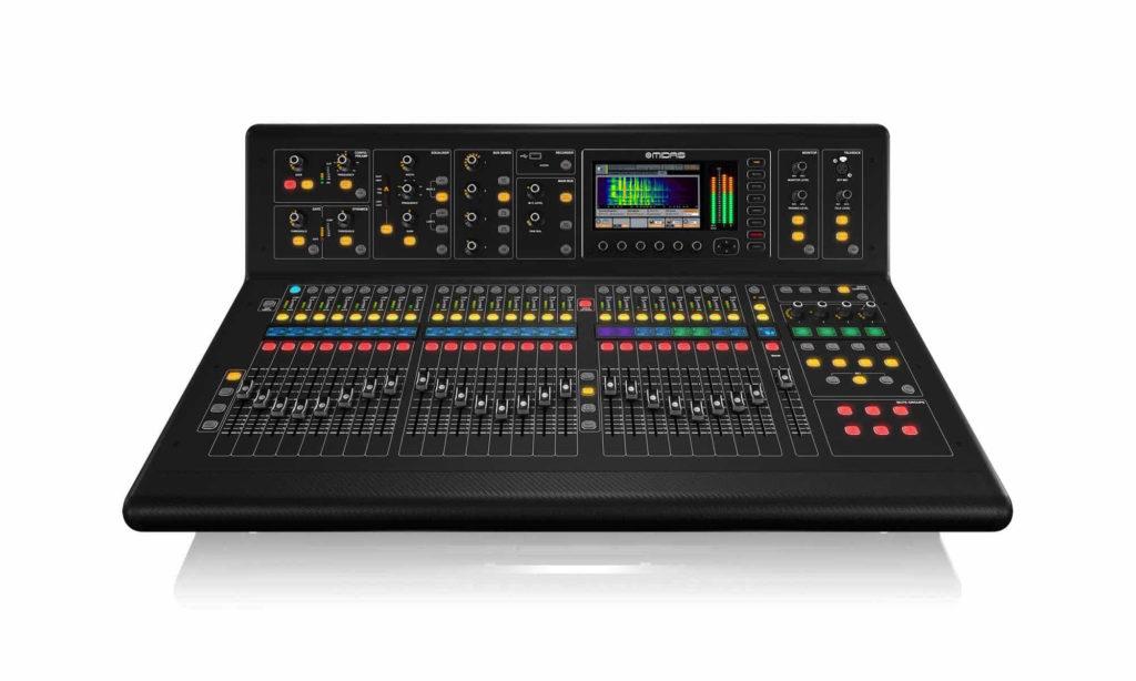 Midas M32 live console mixer digital hardware prase strumenti musicali