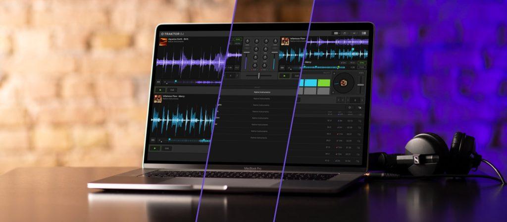 Native Instruments Traktor DJ 2 software app midi music strumenti musicali