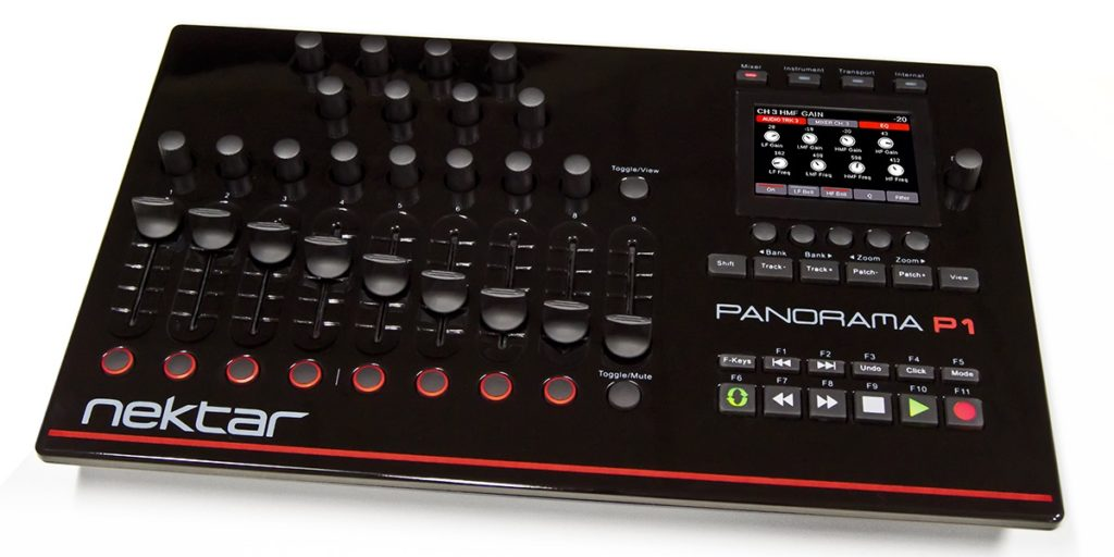 Nektar Panorama P1 controller hardware keyboard mix studio one presonus midi music strumenti musicali