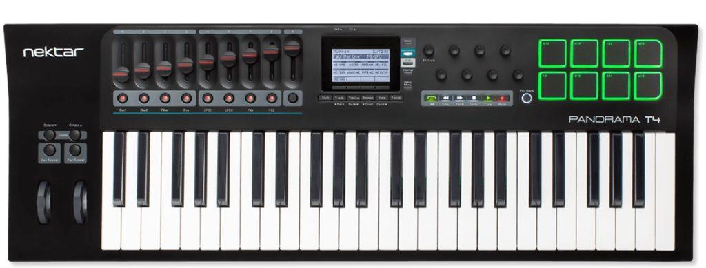 Nektar Panorama T4 controller hardware keyboard mix studio one presonus midi music strumenti musicali