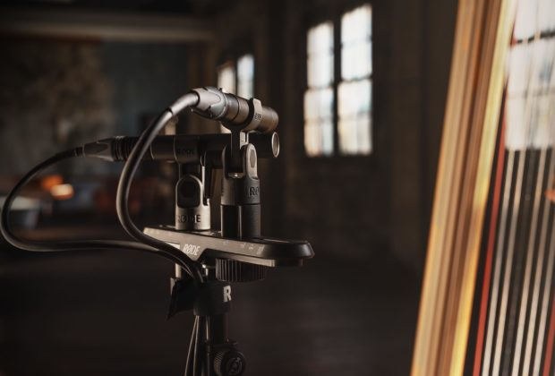 Røde TF-5 mic tony faulkner studio condenser audio pro midi music audiofader