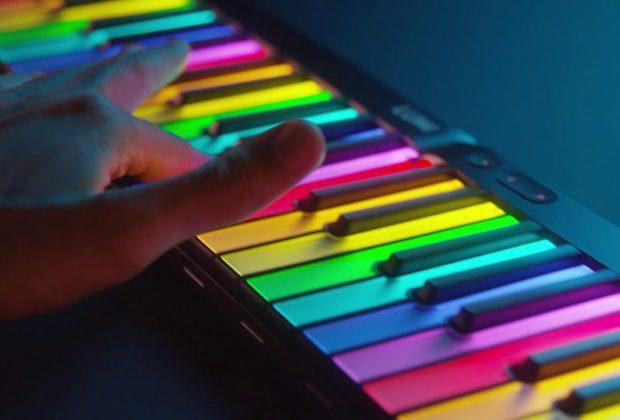 Roli Lumi controller keyboard tastiera producer eko music group