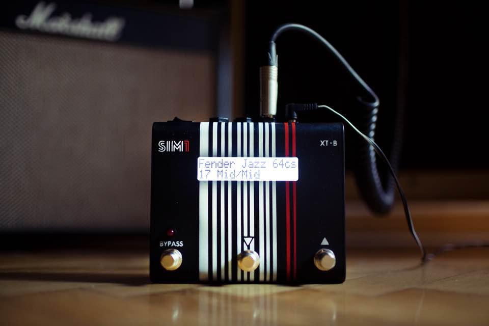 SIM1 XT-B bass pedale fx soundwave