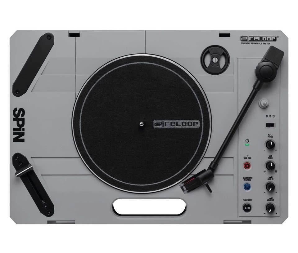 reloop spin dj hardware controller player soundwave strumenti musicali