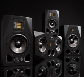 Adam Audio monitor audio pro midi music audiofader