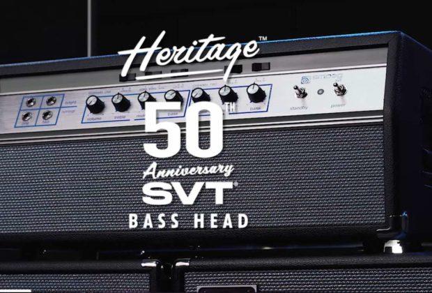 Ampeg Heritage 50th Anniversary SVT amp bass casale bauer strumenti musicali