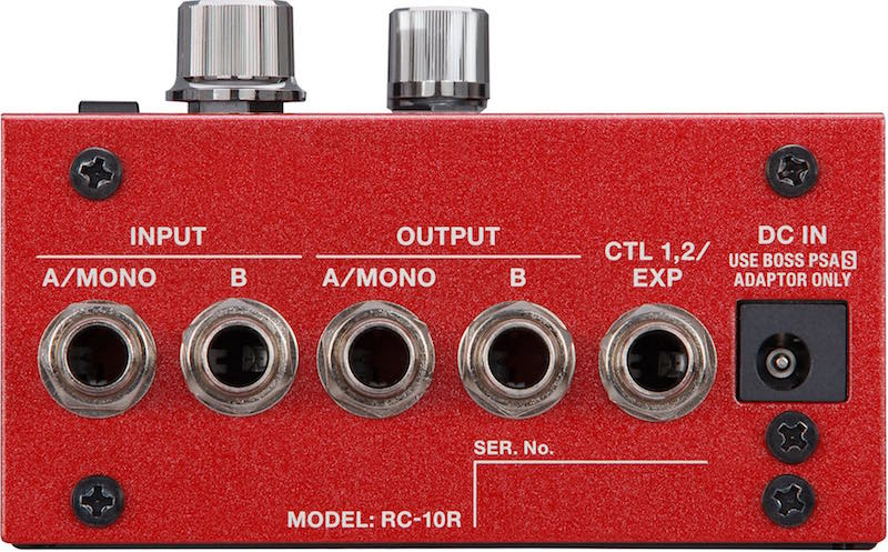 BOSS pedali fx rc10r chitarra guitar strumenti musicali