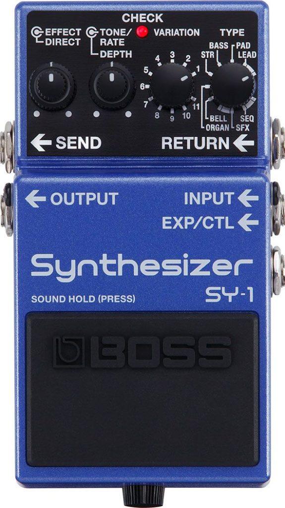 BOSS SY-1 pedali fx chitarra guitar strumenti musicali