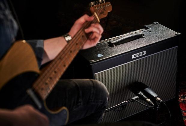 Boss Nextone chitarra elettrica guitar amp firmware update aggiornamento strumenti musicali