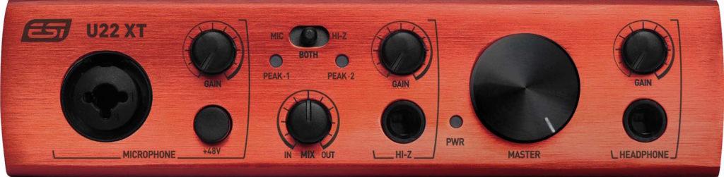 ESI U22 XT interfaccia rec home producer midiware strumenti musicali