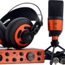 ESI U22 XT headphone mic interfaccia cosMik Set rec home producer midiware strumenti musicali