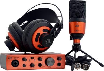 ESI U22 XT headphone mic interfaccia cosMik Set rec home producer midiware strumenti musicali