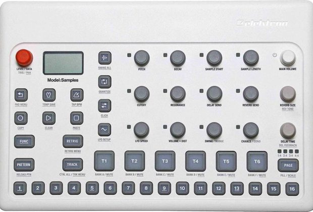 Elektron Model Samples soundwave synth hardware poly strumenti musicali