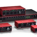 Focusrite Scarlett solo 8i6 2i2 4i4 18i8 18i20 interfaccia audio pro studio home eko music group strumenti musicali