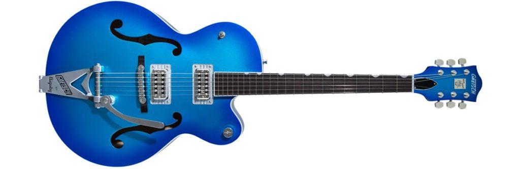 Gretsch G6120T-HR Brian Setzer Candy Blue Burst guitar electric chitarra elettrica casale bauer strumenti musicali