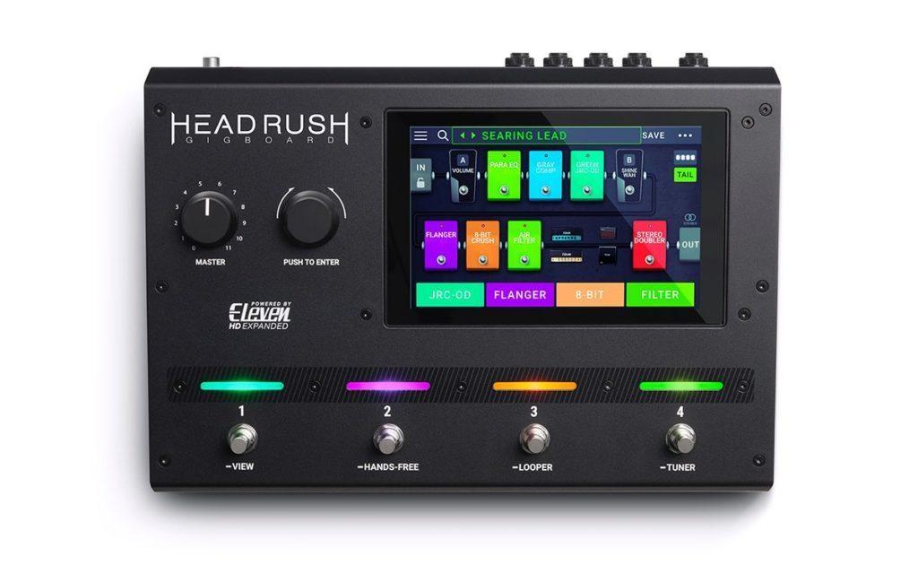 Headrush Gigboard chitarra guitar pedaliera fx digital soundwave strumenti musicali