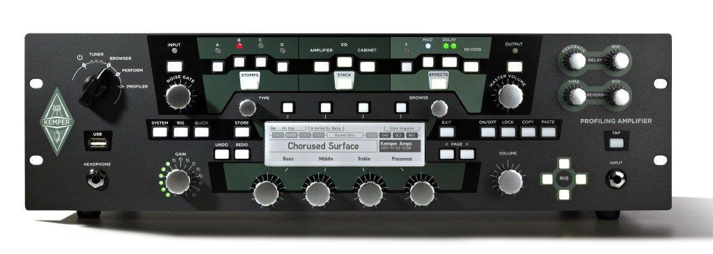 Kemper amp profiler aggiornamento update chitarra guitar soundwave strumenti musicali