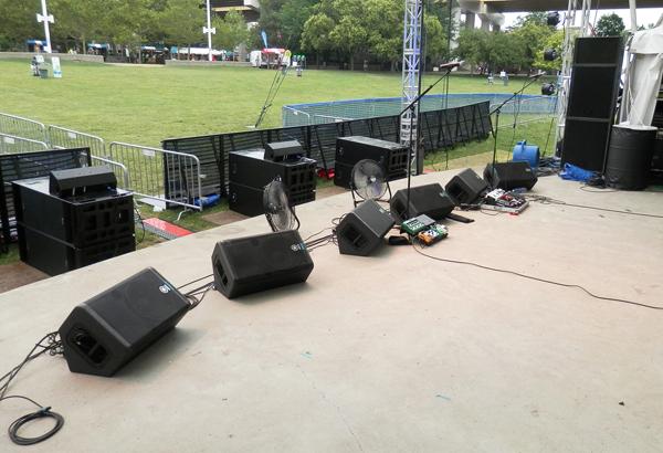 stage monitors strumenti musicali