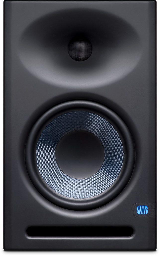 PreSonus Eris E8 XT studio monitor pro home audio midi music audiofader