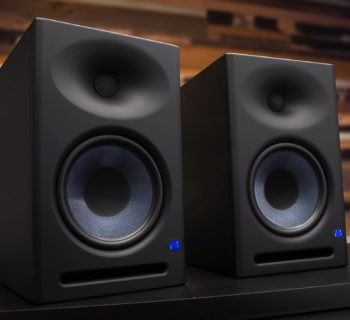 PreSonus Eris E8 XT E5 studio monitor pro home audio midi music audiofader