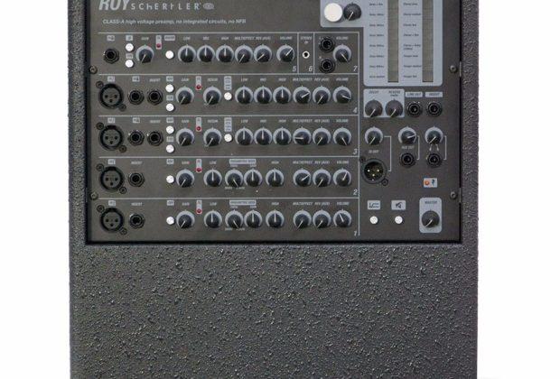 schertler aramini hardware mixer live strumenti musicali