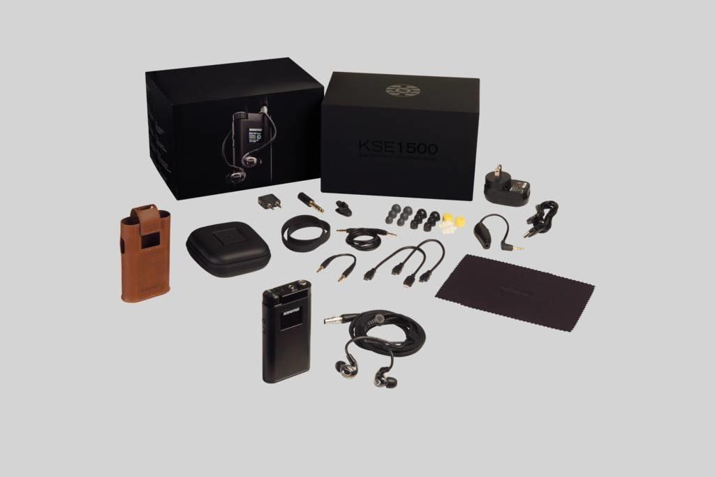 Shure KSE1500 in-ear monitor live studio prase pro audio strumenti musicali