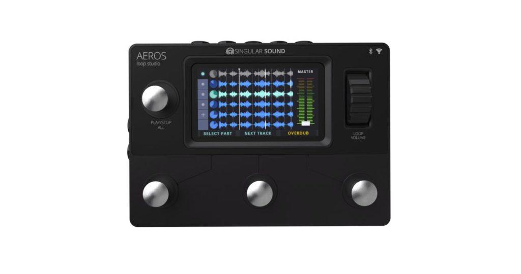 Singular Sound Aeros Loop Studio looper fx chitarra guitar frenexport strumenti musicali