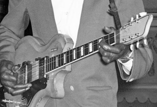 Supro Silverwood chitarra elettrica guitar electric mogar strumenti musicali