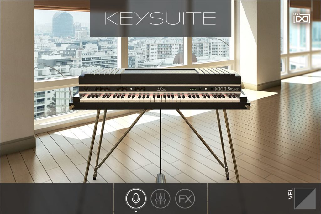 UVI Key Suite producer keyboard tastiera virtual instrument strumenti musicali