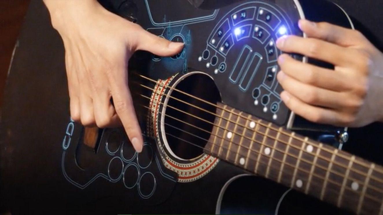 ACPAD chitarra acustica MIDI