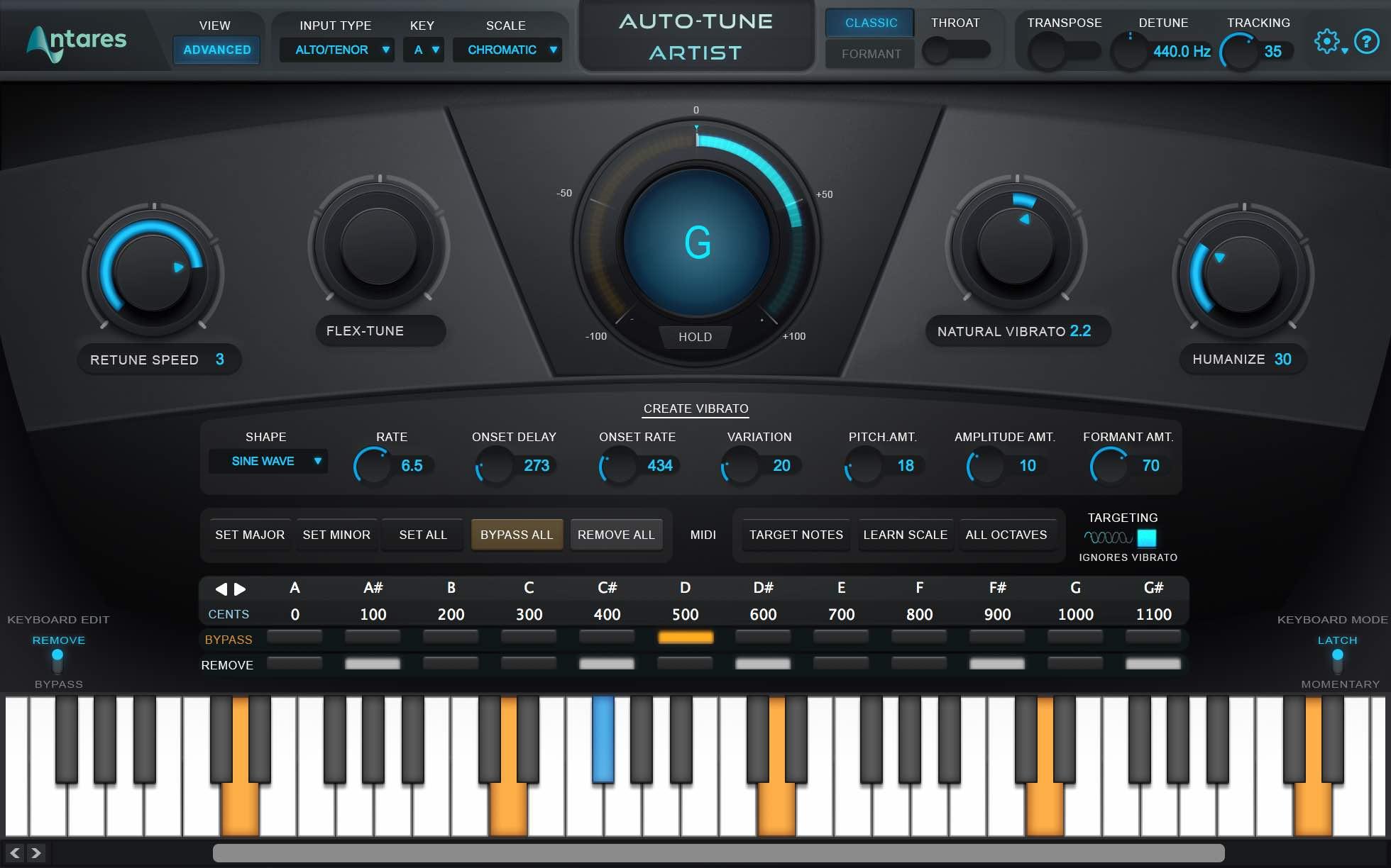 Simple Auto Tune Software