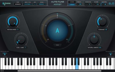 Antares AutoTune Artist plug-in software vocal correction pitch strumenti musicali