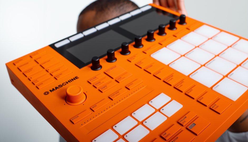 Maschine 10th anniversary orange version strumenti musicali