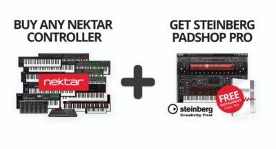 Nektar Steinberg Padshop SummerPromo controller tastiera keyboard midi music strumenti musicali