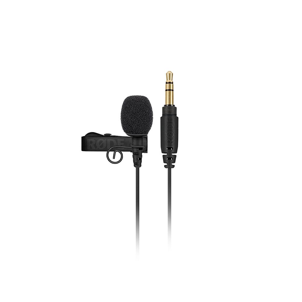 Røde Lavalier GO mic live broadcast intervista midi music audiofader