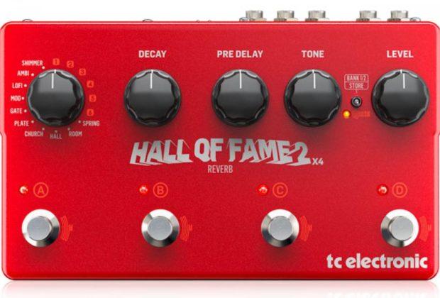 TC Electronics Hall of Fame 2 X4 strumenti musicali