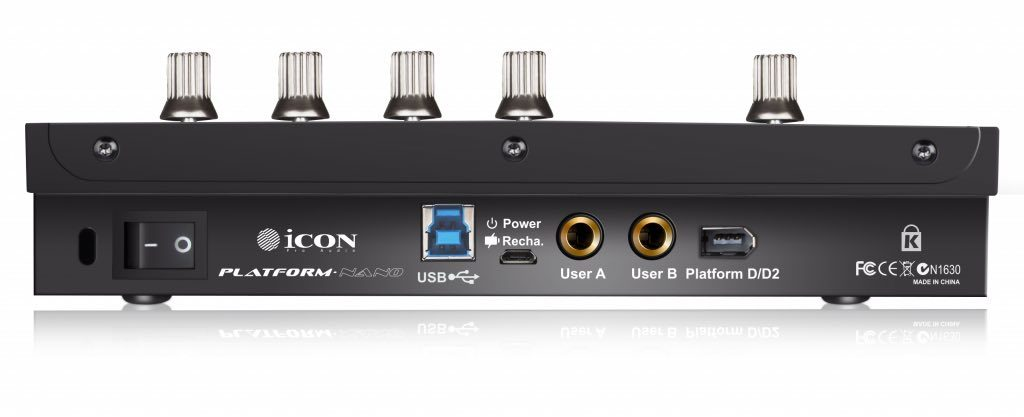 iCon Platform Nano controller midi daw software hardware eko music group audiofader