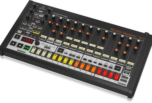 Behringer Rhythm Designer RD-8 drum machine strumenti musicali